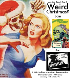 Weird Christmas W The Whistler The Mysterious Traveler 31
